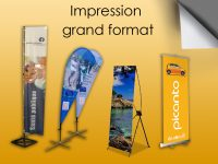 SUPPORTS PUBLICITAIRES / IMPRESSION EN GRAND FORMAT