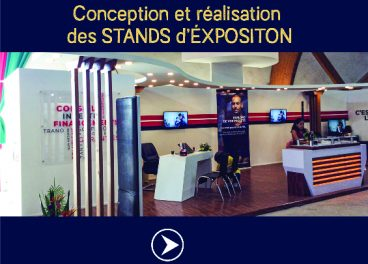 STAND D'EXPOSITION BY KADOPUB