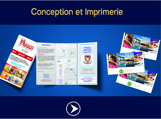 CONCEPTION GRAPHIQUE & IMPRIMERIE